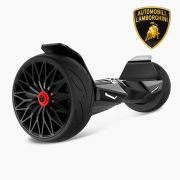 "Black Lamborghini Hoverboard with Bluetooth Speaker & App Enabled 8.5"" Lambo Hoverboard Best Gift for Kids and Adult"