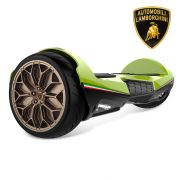 "Green Lamborghini Hoverboard 6.5"" with Bluetooth & App Self Blanacing Scooter Hoverboard for Kids"