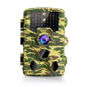 Hunting Video Camera 16MP, 1080P Wireless Trail Camera 120°Detection Angle Outdoor Wildlife Motion Camera with Night Vision Waterproof IP65 42pcs IR 850nm LEDs