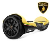Lambo Hoverboard Bluetooth Yellow 6.5 Inch Lamborghini Hoverboard with Lights & App Two-Wheel Lithium-ion batteries Self Balancing Scooter