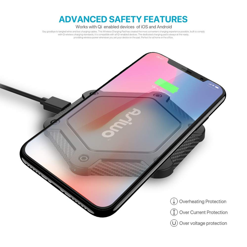 Wireless Charging Pad - Advanced Safety Features