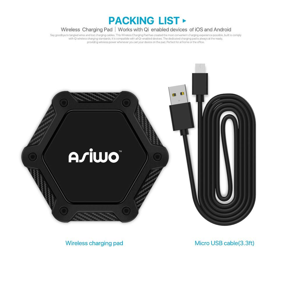 Wireless Charging Pad - Package List