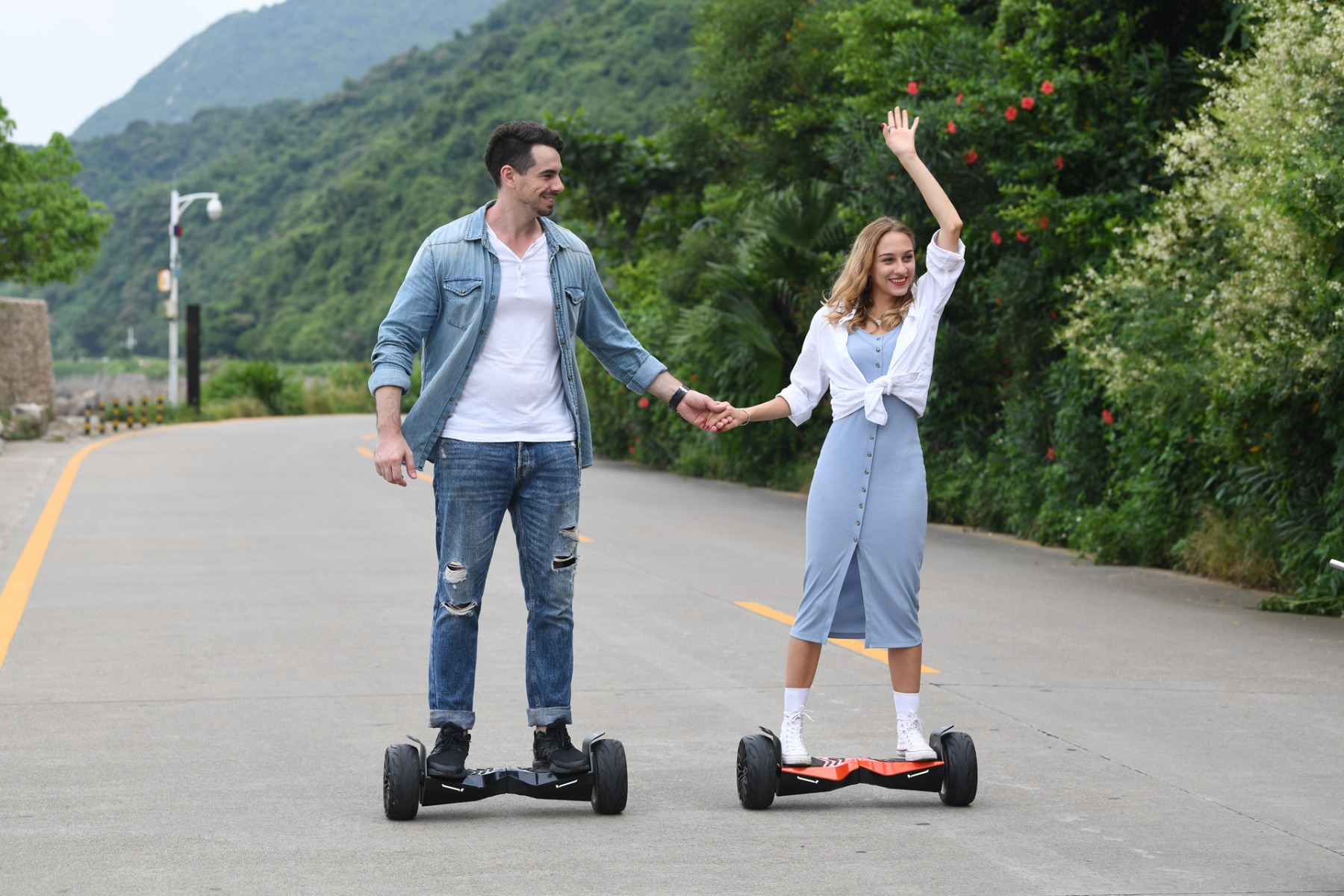 Black Lamborghini Hoverboard with Bluetooth Speaker - Best Gift for Someone Special