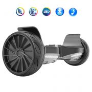 Self Balancing Hoverboard Sport 8.5 Inch Big Wheel Hover board Electric Balance Scooter with Bluetooth and LED Lights - Black
