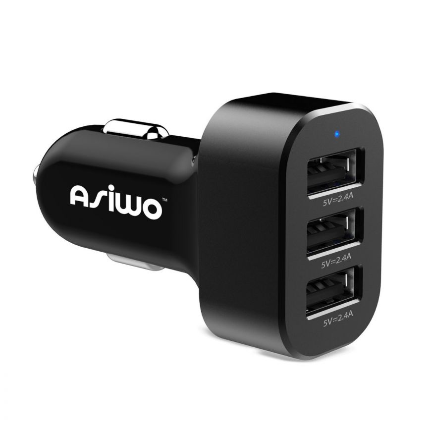 3 Port Usb Car Charger Adapter Outlet For Iphone Ipad Table Smartphone