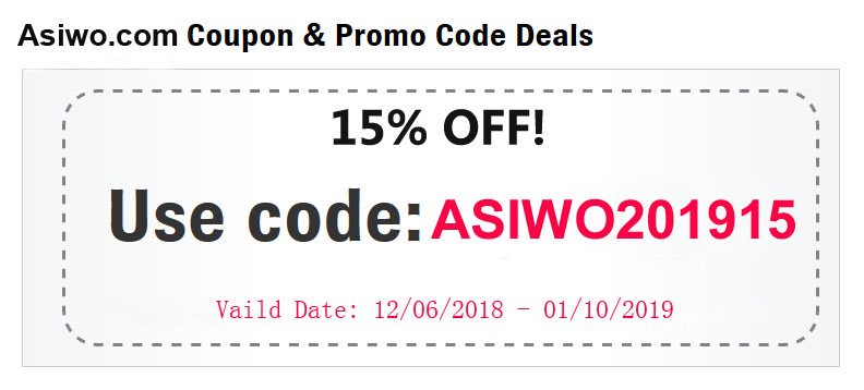 Asiwo 15% Off Christmas Discount