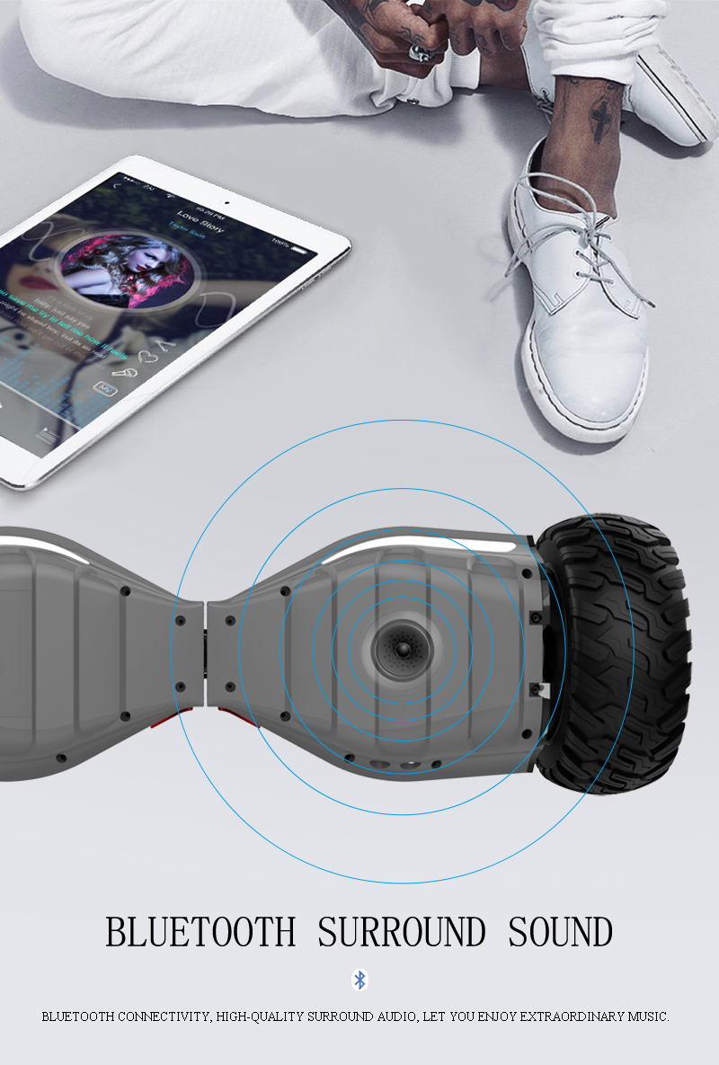All Terrain Hoverboard - Bluetooth Speaker