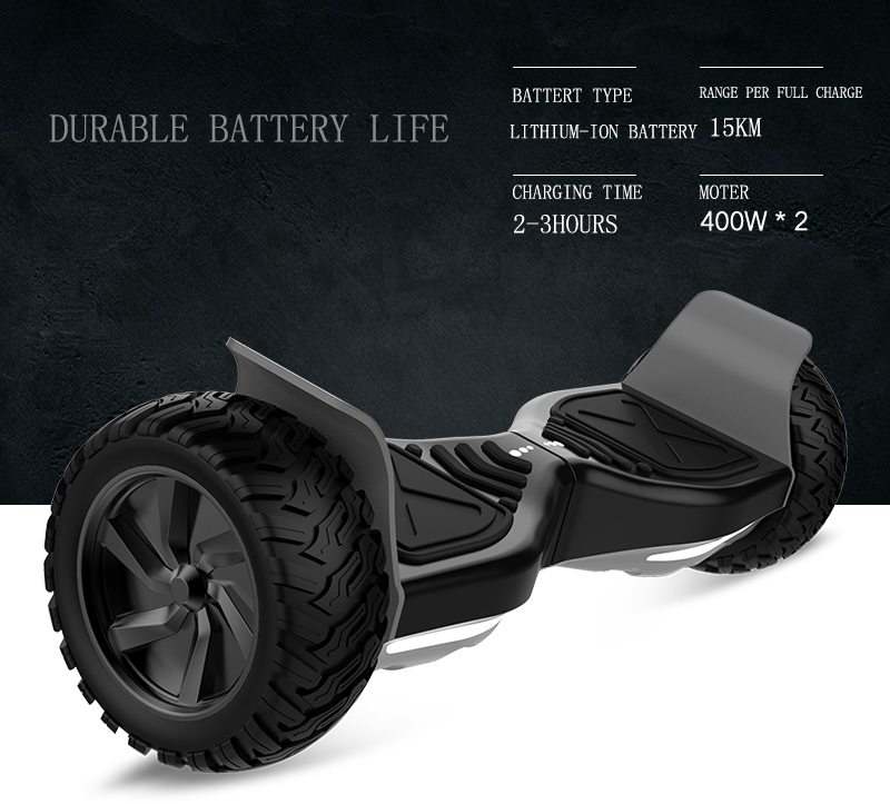 All Terrain Hoverboard - Durable Battery