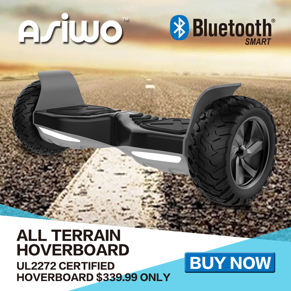 Asiwo All Terrain Hoverboard
