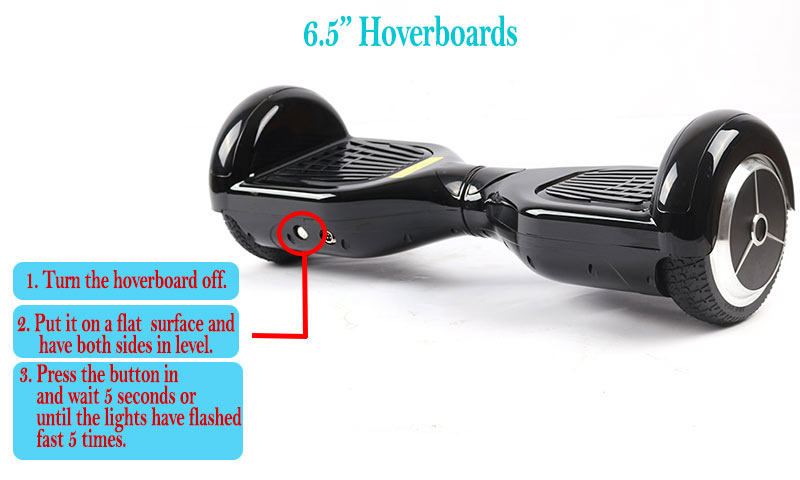 Recalibrate 6.5 inch Hoverboard and Get it to Stop Beeping