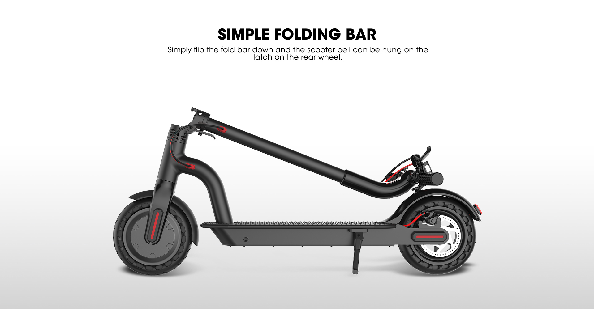 foldable-electric-scooter-simple-folding-bar