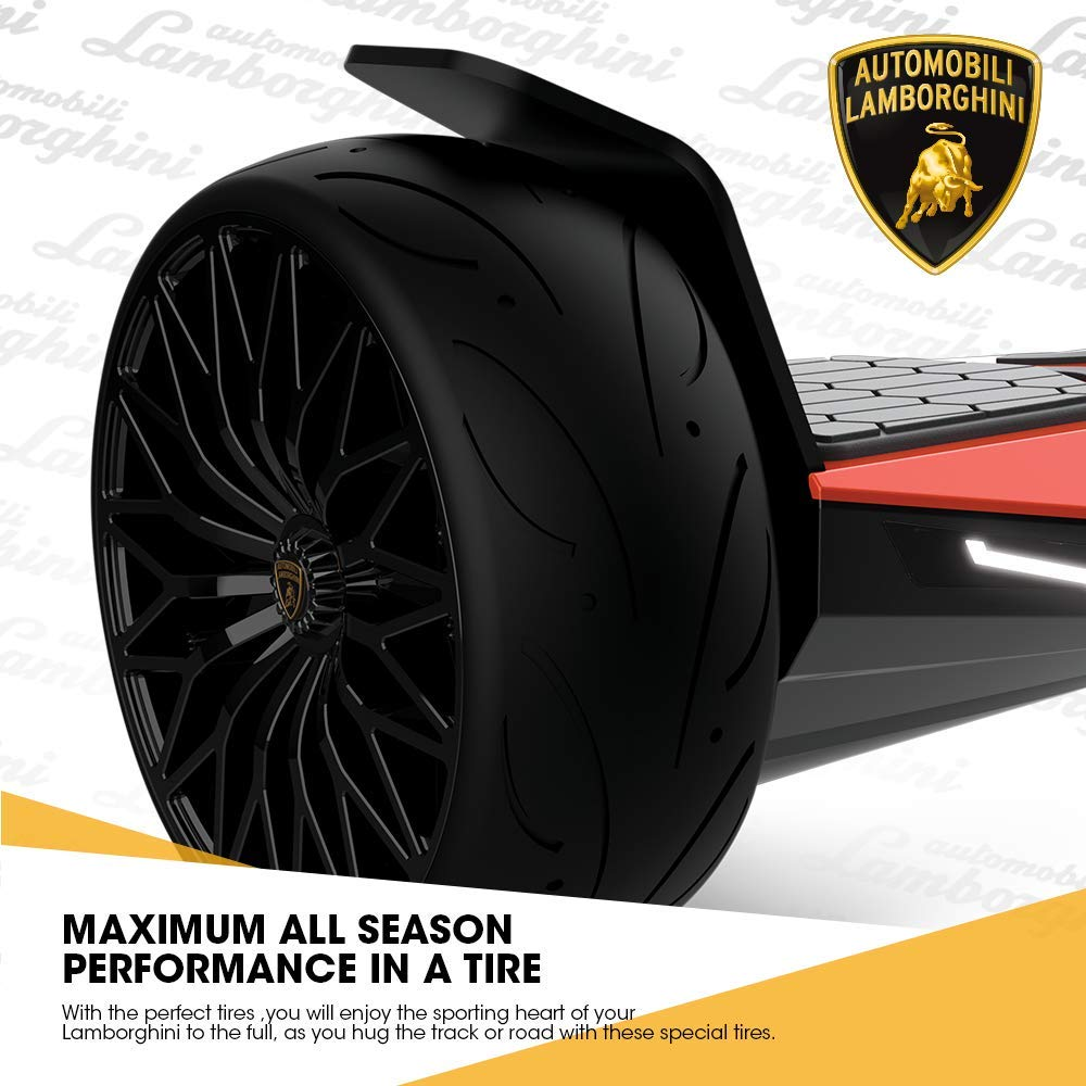 "Lamborghini Hoverboard Best Christmas Gift - 8.5"" SUV Tires"