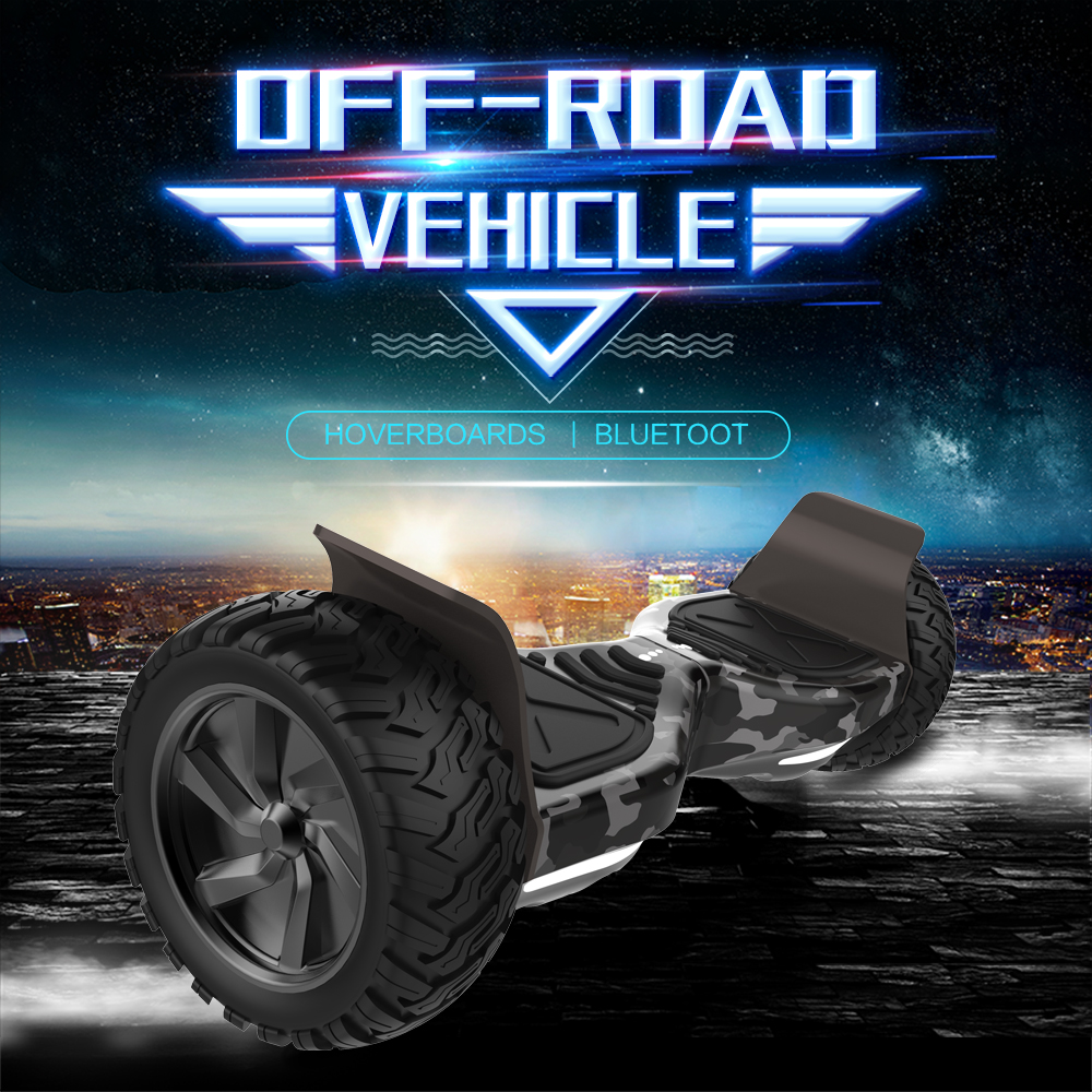 Off Road Hoverboard Camouflage