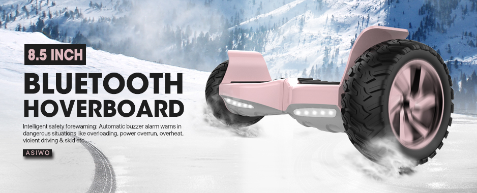 "Rose Gold 8.5"" Off Road Hoverboard"