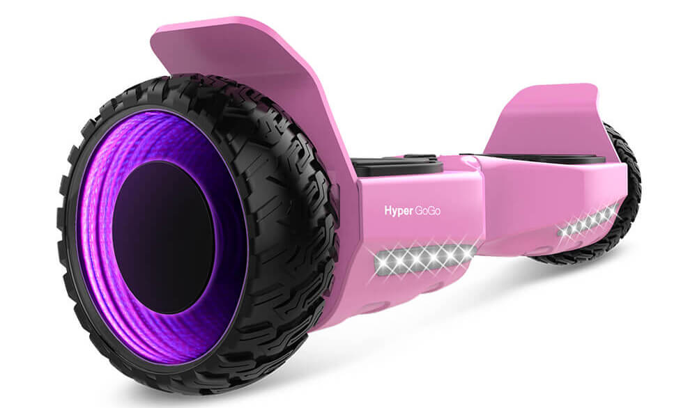 """Self Balancing Scooter 6.5/"""" LED Off Road Electric Scooter Hoverboard-Bluetooth"""